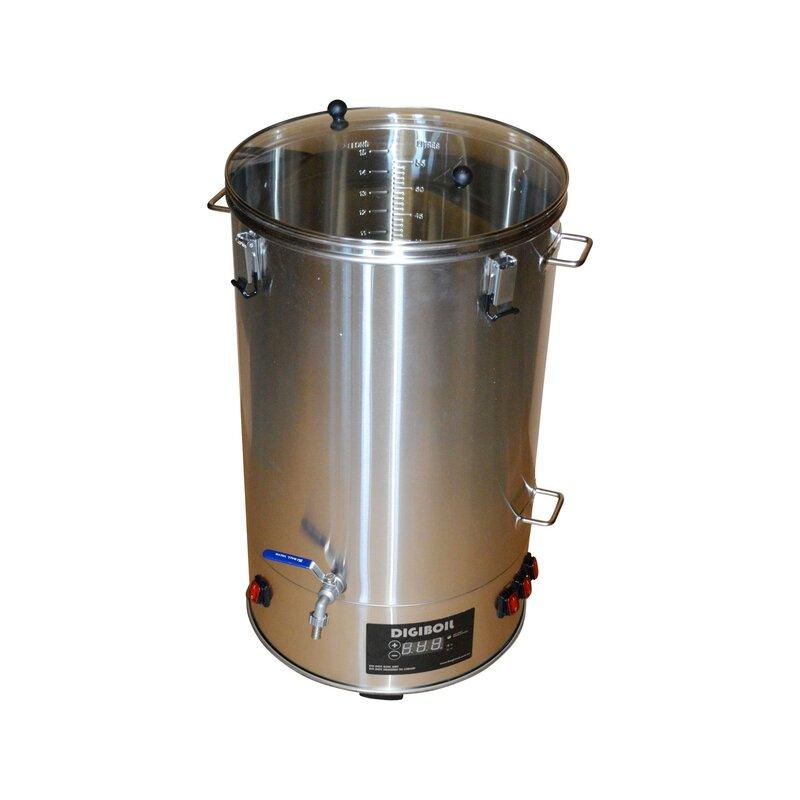 Maischekessel Digiboil 65 Liter Getränkekocher Glühweinkocher